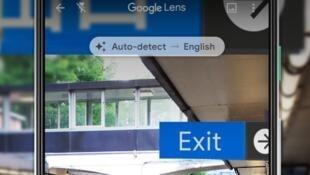 نسخ ولصق نص مكتوب باليد على الحاسوب بفضل تطبيق غوغل لانس