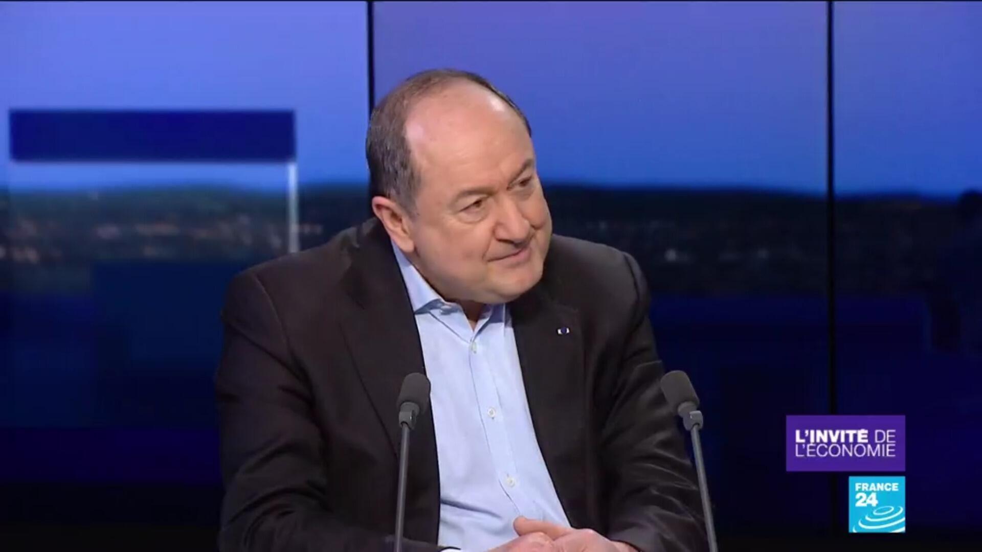 Bernard Squarcini, spécialiste de la sécurité des entreprises