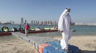 Qatar, where beaches reopened on July 1, has one of the world's highest per capita infection rates with 3.65 percent of its 2.75 million population having tested positive for COVID-19