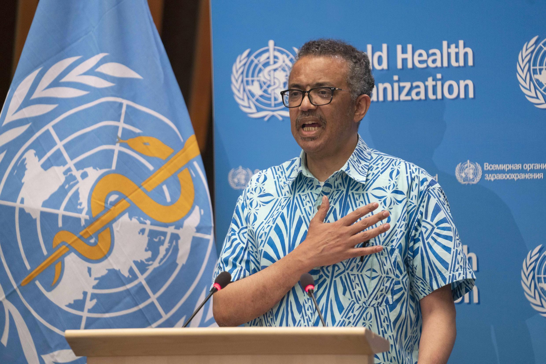 مدير منظمة الصحة العالمية. 19 مايو/أيار 2020.