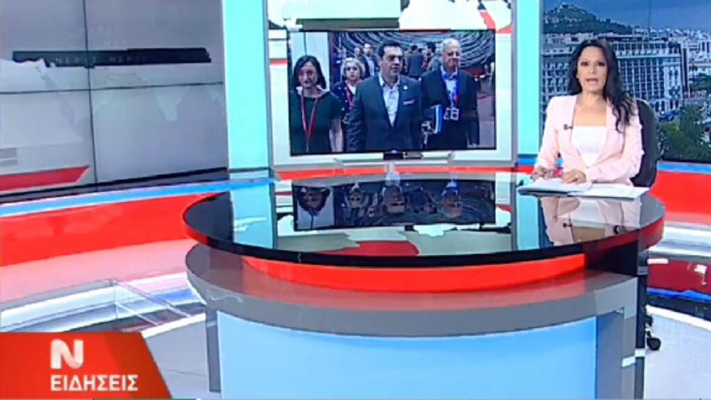 Les présentateurs du journal télévisé ont repris du service.