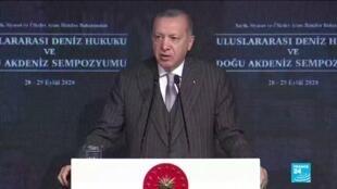 2020-09-28 17:05 Erdogan tells Armenia to end 'occupation' of Nagorno-Karabakh