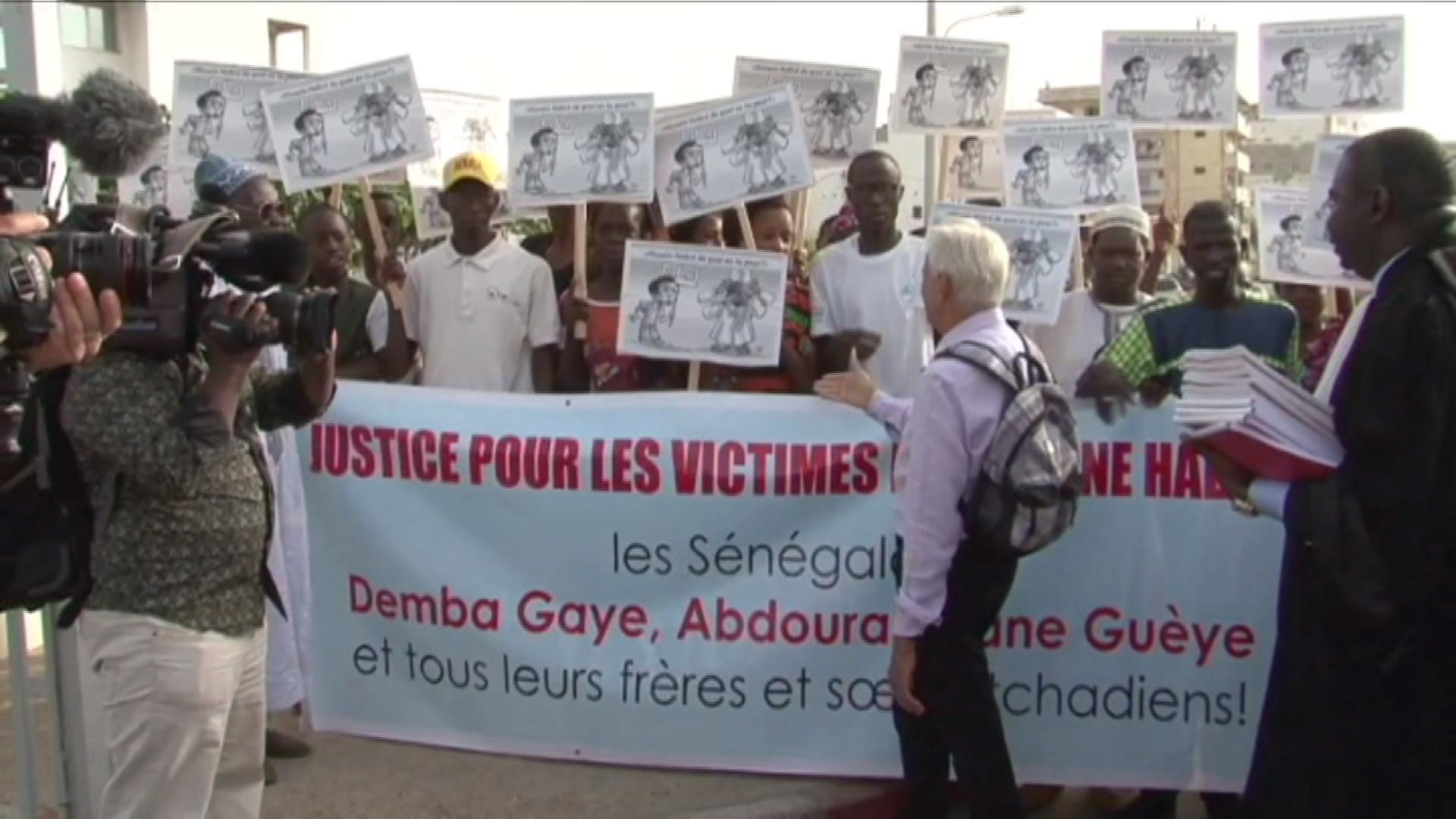 Des victimes du régime de Hissène Habré