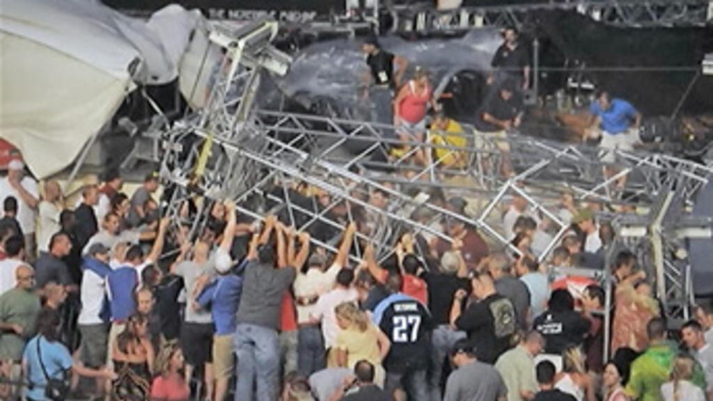 Stage collapses at Indiana State Fair, killing four