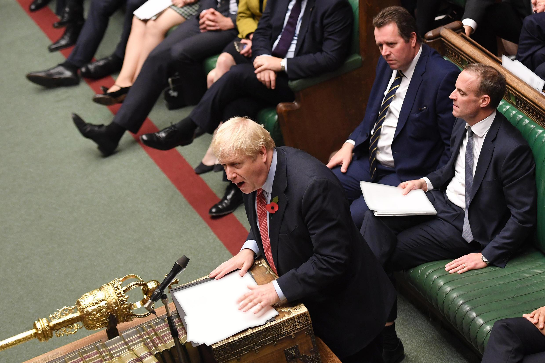 Boris Johnson, UK parliament