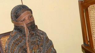 Imagen de Asia Bibi luego de ser condenada a muerte el 20 de noviembre de 2010 en la provincia de Punjab, Pakistán.