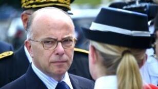 Le ministre de l'Intérieur Bernard Cazeneuve (archives).