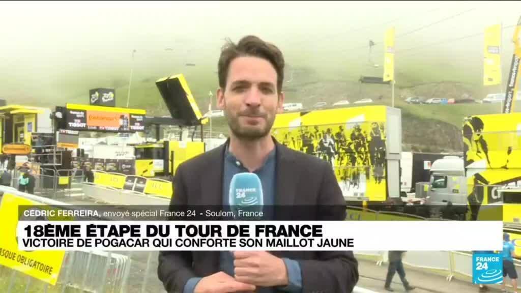 """2021-07-15 18:00 Tour de France : """"Pogacar ne laisse même pas les miettes à ses adversaires"""""""