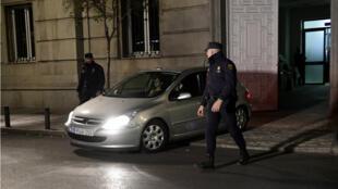 Carme Forcadell a été placée en détention provisoire jeudi 9 novembre après avoir été entendue par la Cour suprême à Madrid.
