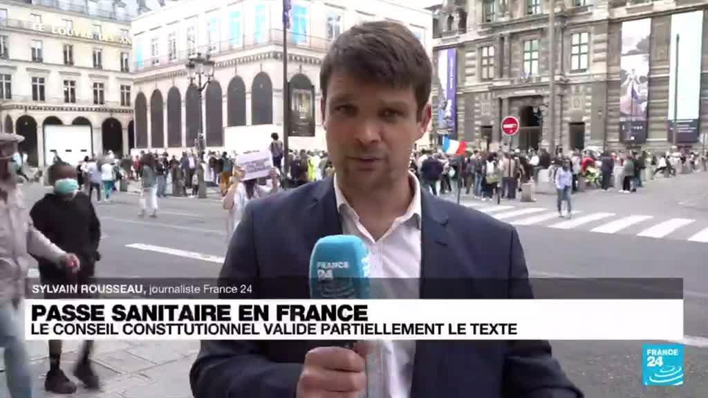 2021-08-05 17:01 Passe sanitaire en France : le Conseil constitutionnel validé partiellement le texte