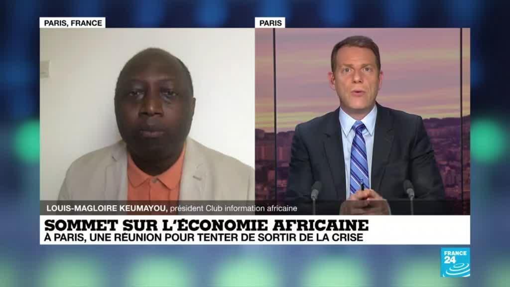 """2021-05-18 18:14 Sommet sur l'économie africaine: """"L'Afrique doit être intégrée aujourd'hui dans les prises de décision"""""""