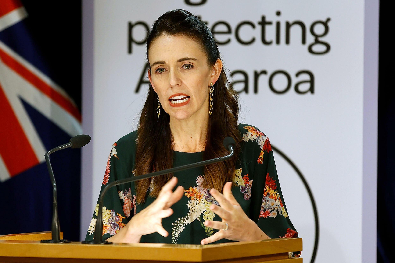 La Première ministre néo-zélandaise, Jacinda Ardern, le 5 mars 2021 à Wellington