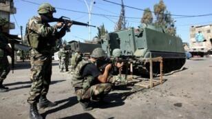 L'armée libanaise a été l'objet de plusieurs attaques de jihadistes ces derniers mois.