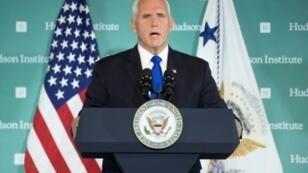 نائب الرئيس الأمريكي مايك بنس