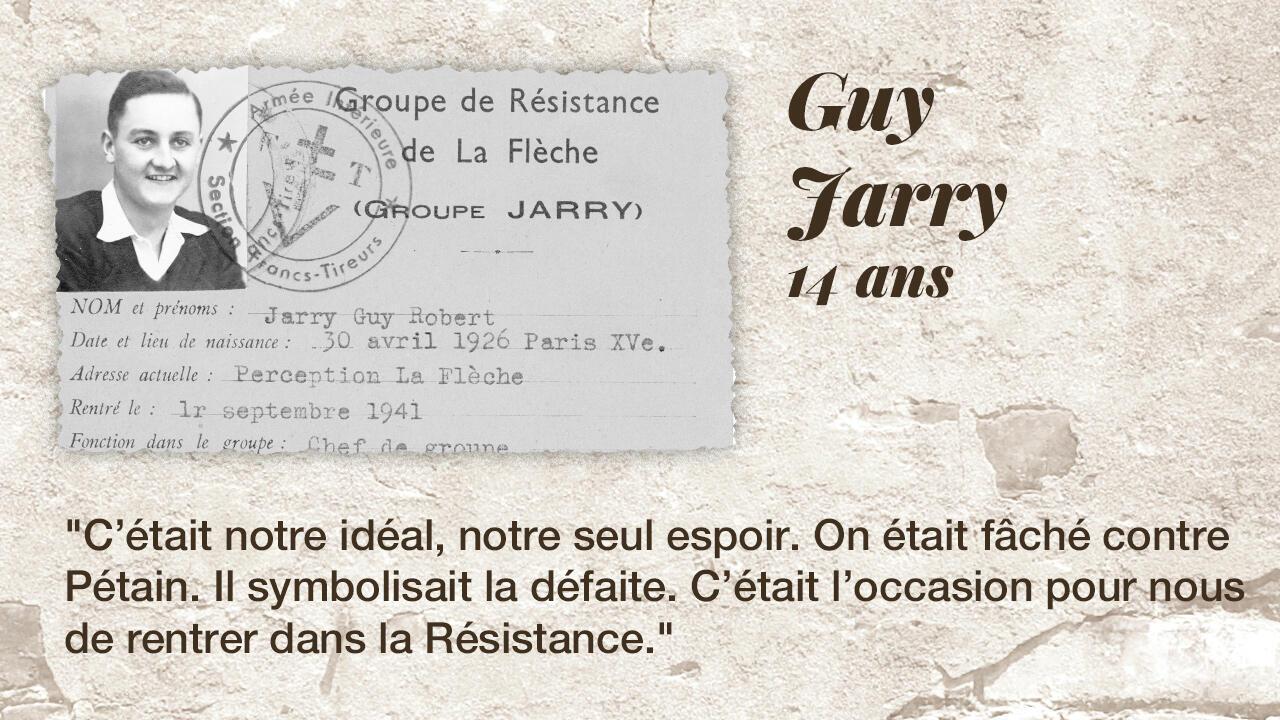 Le résistant Guy Jarry.