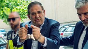"""El empresario mexicano Alonso Ancira, detenido en Palma de Mallorca, España, este martes 28 de mayo de 2019, se enfrenta en México a acusaciones por delitos que causaron """"grave daño patrimonial"""" a la compañía estatal Petróleos Mexicanos (Pemex)."""