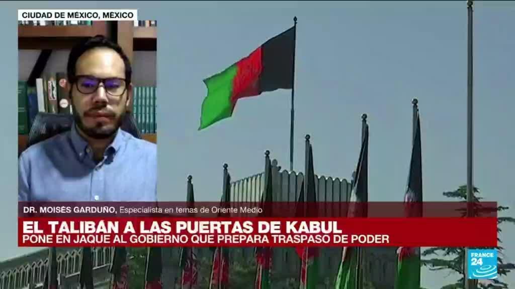 """2021-08-15 14:35 Moisés Garduño: """"El avance talibán en Afganistán representa el fracaso de EE. UU."""""""