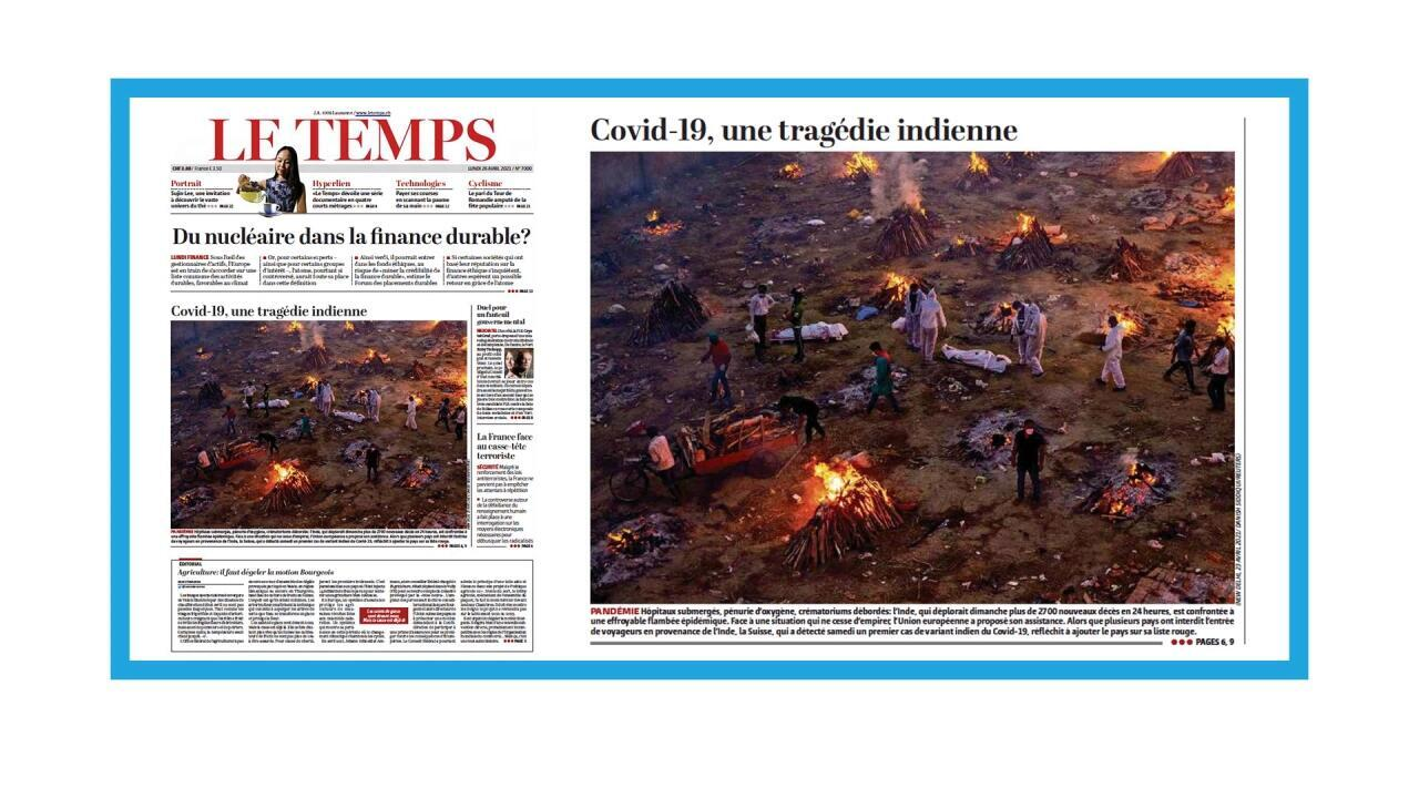 L'Inde frappée de plein fouet par la deuxième vague épidémique