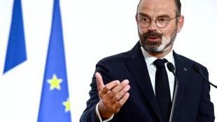 Le Premier ministre Edouard Philippe, le 28 mai 2020 à Matignon
