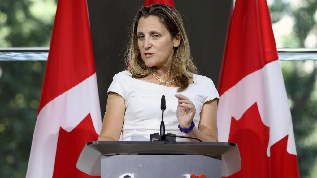 La canciller canadiense, Chrystia Freeland, manifestó el 31 de agosto de 2018, que su país continuará en las conversaciones sobre el nuevo TLCAN.