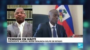"""2021-02-08 00:07 Loius-Jean Pierre Loriston: """"El presidente no es el único culpable de la crisis económica en Haití"""""""