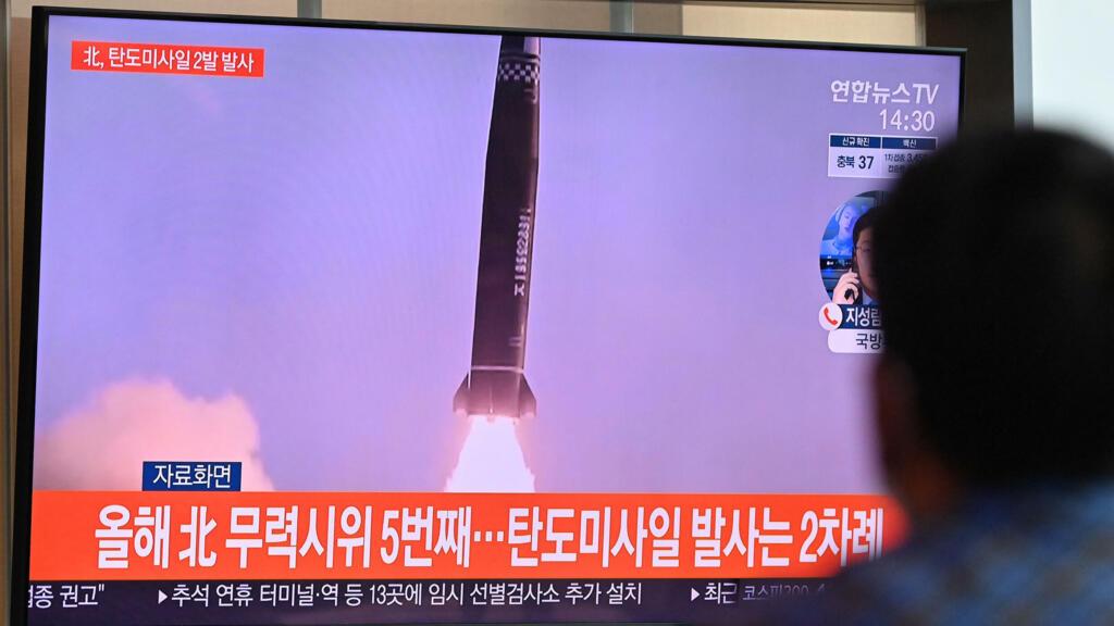 Les deux Corées ont effectuédes tirs de missiles balistiques le même jour