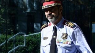 قائد شرطة إقليم كاتالونيا المقال جوزيب لويس ترابيرو