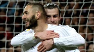 Retour à la compétition réussi pour Karim Benzema, buteur et passeur contre le FC Séville.