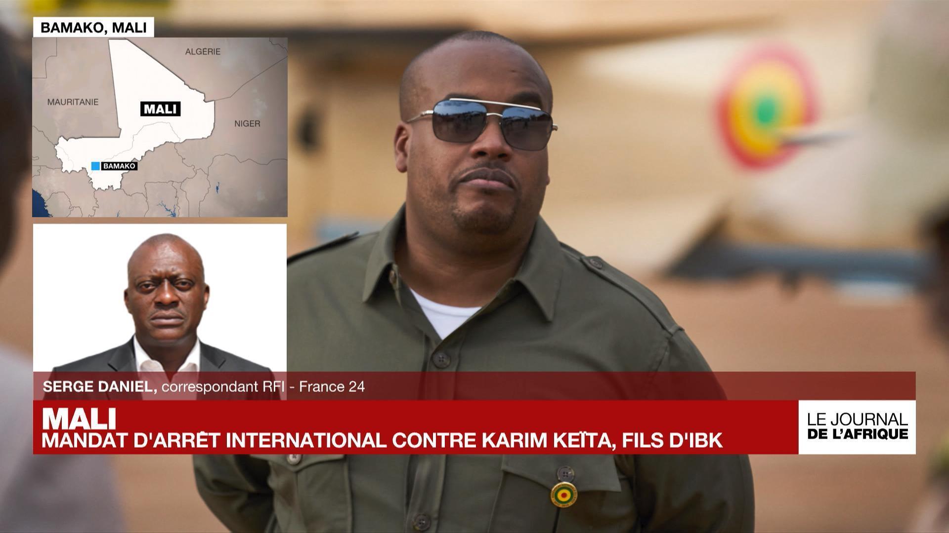 Mali : mandat d'arrêt international contre Karim Keïta, fils de l'ex-président Ibrahim Boubacar Keïta