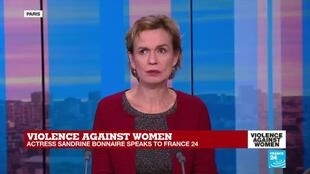 2019-11-25 18:53 Sandrine Bonnaire shares her experience with domestic violence