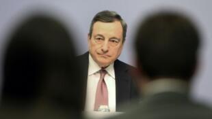 Image d'archive de Mario Draghi.