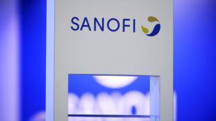 شعار شركة سانوفي الفرنسية للصناعات الدوائية.