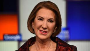 L'ex-candidate aux républicaines américaines, Carly Fiorina, lors d'une émission sur Fox News, le 28 janvier 2016.