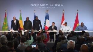 Sommet de Pau