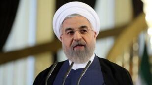 """""""Nous accueillons positivement les critiques"""", a assuré le président iranien Hassan Rohani."""