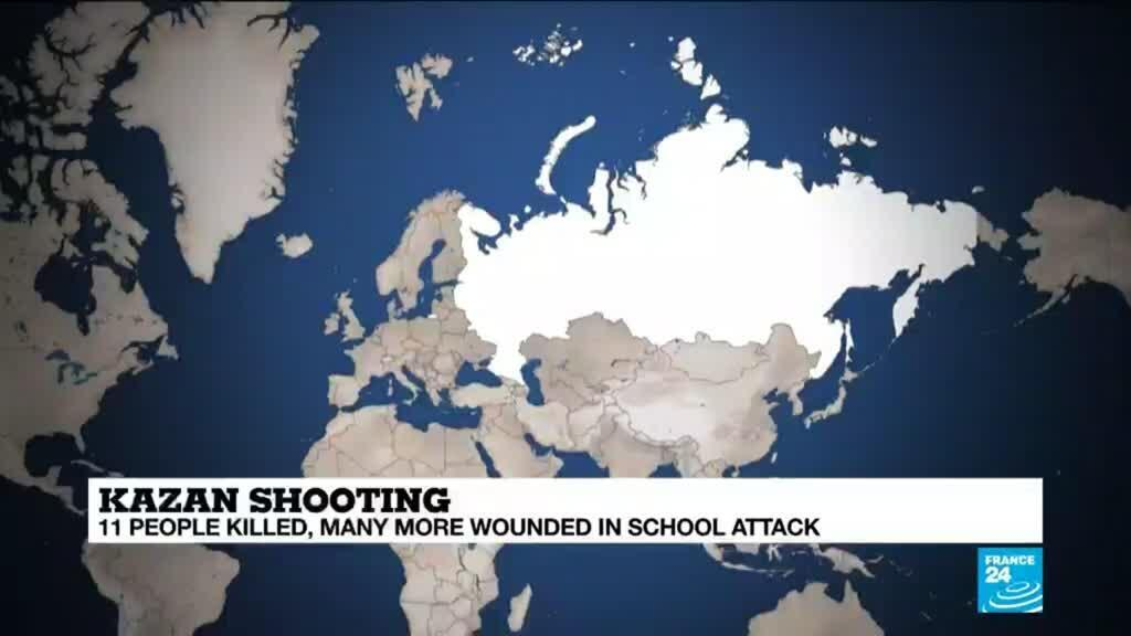 2021-05-11 11:06 Eleven killed, many wounded in Russian school shooting
