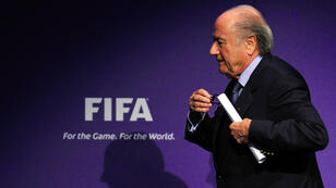 Sepp Blatter, 79, has been at the helm of football's governing body since 1998