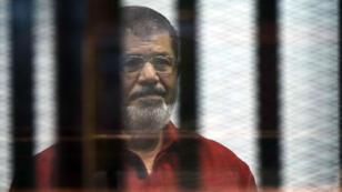 L'ex-président islamiste Mohamed Morsi au Caire, le 21 juin 2015.