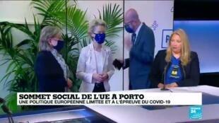 2021-05-07 12:01 Un sommet européen à Porto pour une Europe plus sociale sur fond de divisions