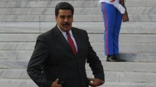 الرئيس الفنزويلي نيكولاس مادورو في قصر الثورة 4 يونيو 2016