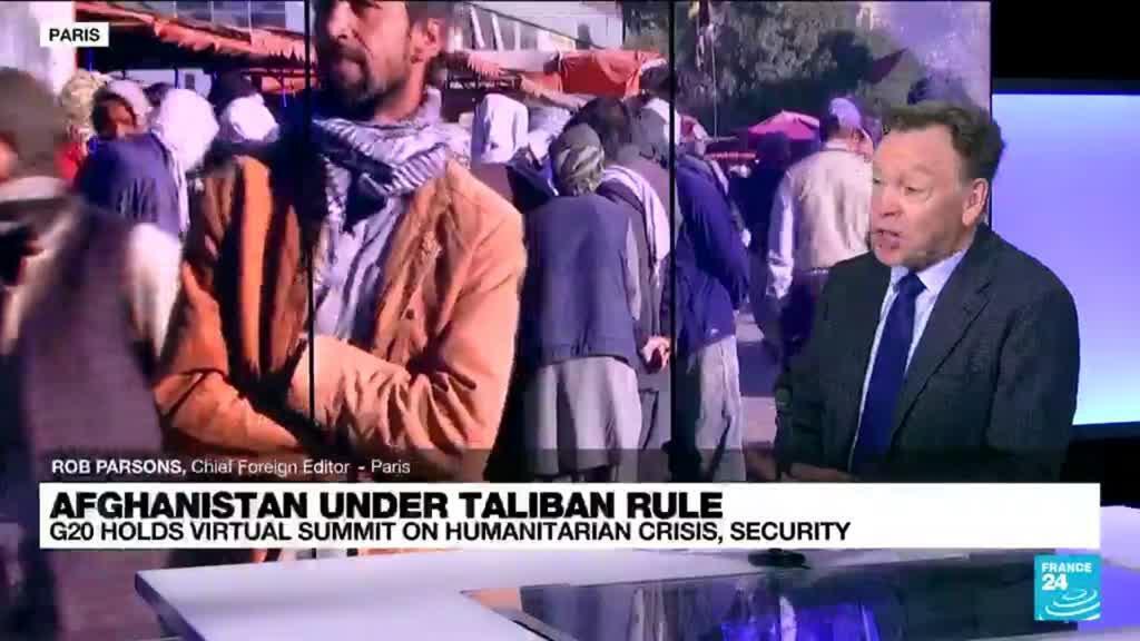 2021-10-12 14:32 G20 tackles Afghan humanitarian crisis at special summit