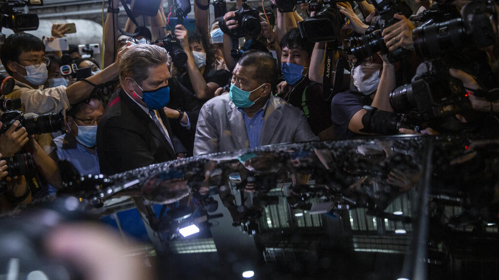 À Hong Kong, le magnat prodémocratie Jimmy Lai a été libéré sous caution