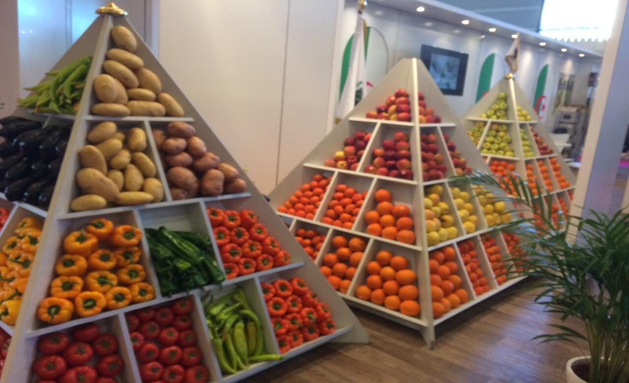 جانب من المنتجات الزراعية - الرواق الجزائري