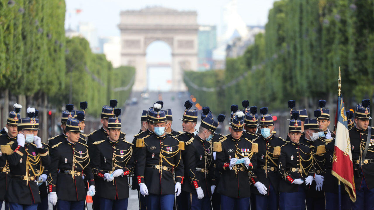 Live: France honours heroes of Covid-19 response at Bastille Day parade