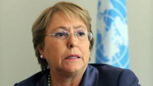 Michelle Bachelet, directrice exécutive de ONU Femmes
