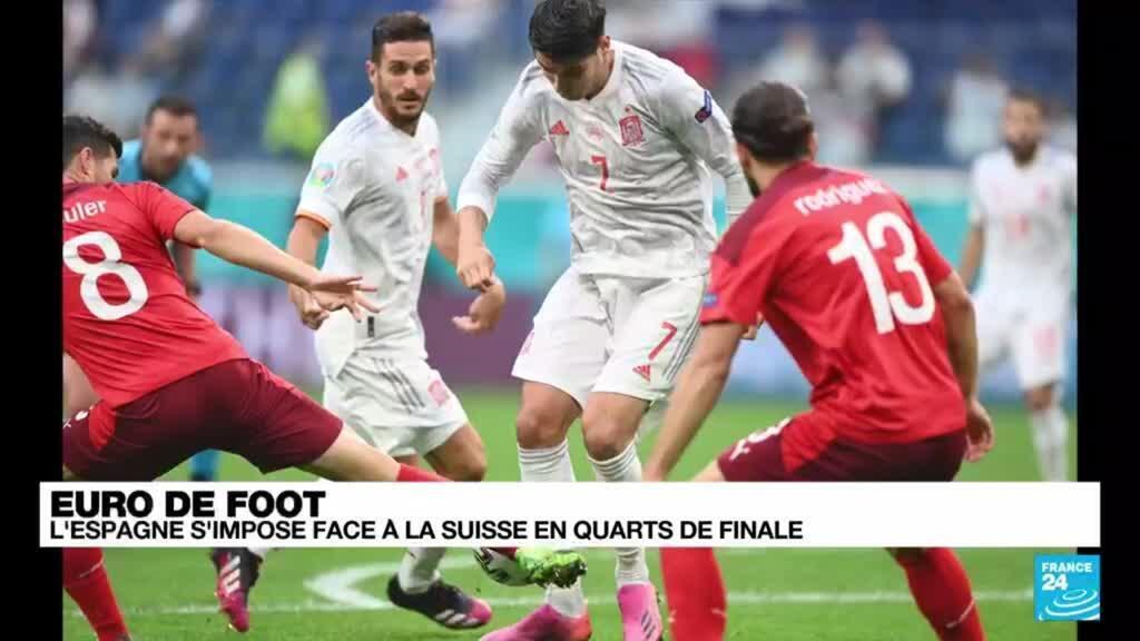 2021-07-02 21:17 Euro 2021 : l'Espagne évince la Suisse aux tirs au but et se qualifie pour les demi-finales