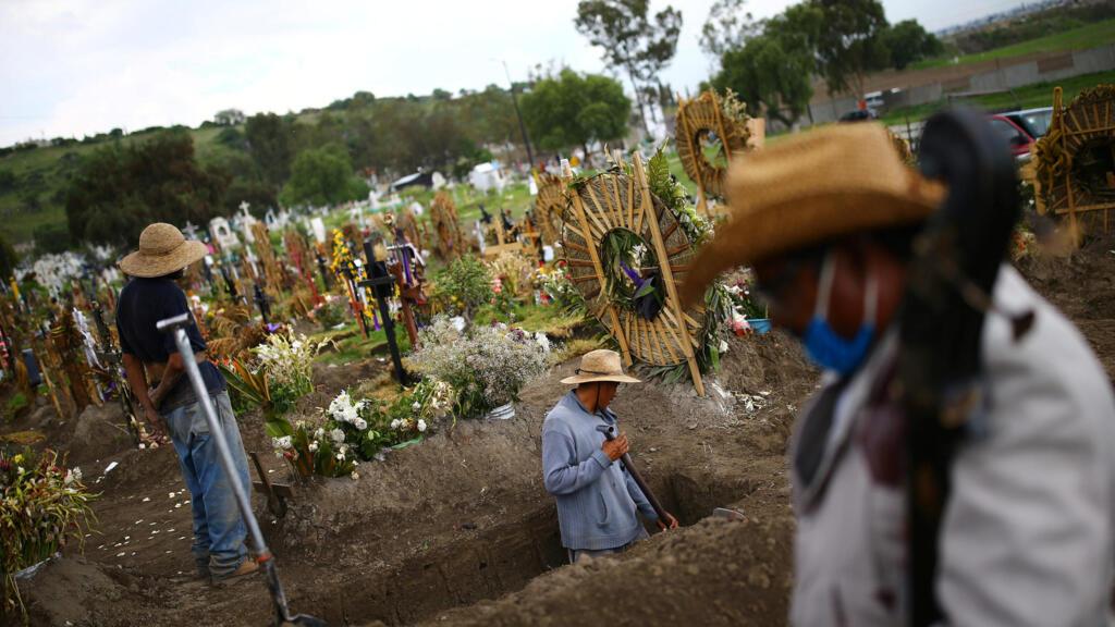 Covid-19 : nouveaux records de contamination au Mexique et en Afrique du Sud
