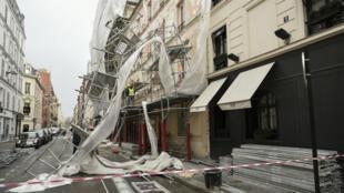 Au plus fort de la tempête Eleanor, plus de 225 000 foyers ont été privés d'électricité en France.