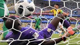 هدف كولومبيا في مرمى السنغال. 2018/06/28