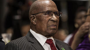 Man of history: Andrew Mlangeni, who has died at the age of 95